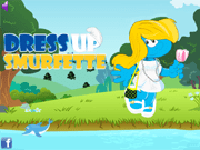 Dress Up Smurfette
