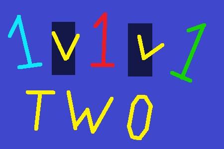 1v1v1: Two