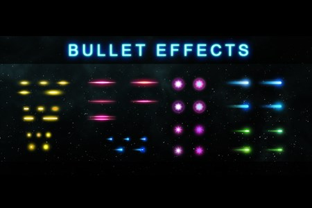 Bullet Effects (Not A Game)
