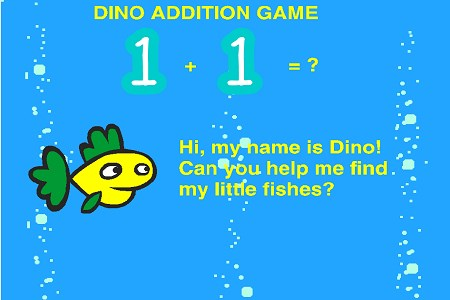 DINO ADDITION GAME