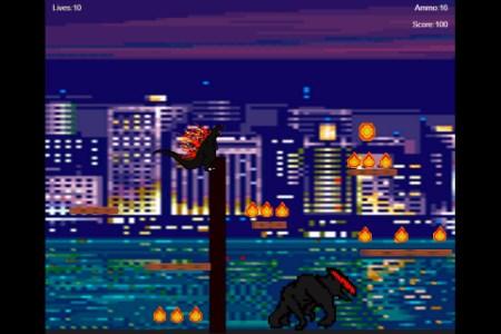Godzilla Platformer