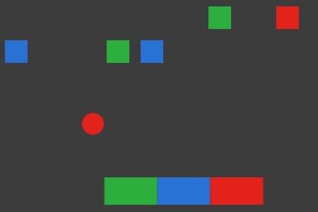 3 Color Brick Breaker