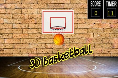 BasketBall 3D template